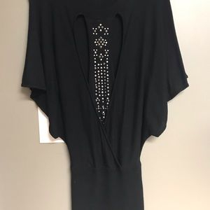 Guess Black sweater dress